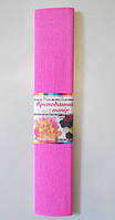 Гофрированная бумага (розовый)