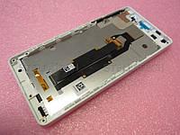 Дисплейный модуль Sony Xperia E5 F3311 белый Оригинал