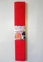 Гофрированная бумага (ярко-красный)