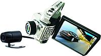 Видеорегистратор DVR P9  2-ух канальный с камерой заднего вида.    t-n