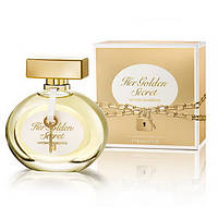 Женская туалетная вода Antonio Banderas Her Golden Secret eu de Toilette (EDT) 80ml