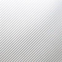 Карбоновая пленка TR1 2D (Глянцевый), Белая
