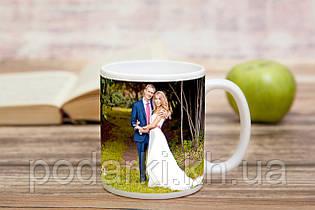 Печать фото на чашке