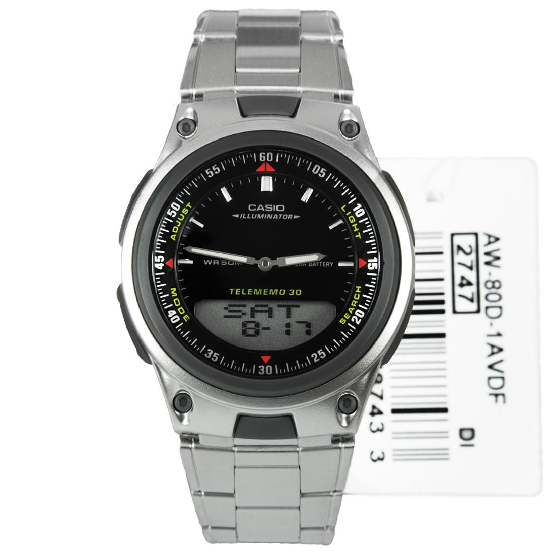 Часы Casio AW-80D-1A (уценка)