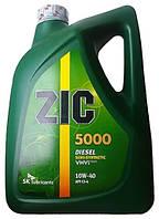 Масло моторное ZIC 5000 Diesel 10W-40 6л