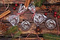 Новогодние шоколадные медальоны