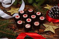 Новогодние мини-подарочки. Шоколадная конфетка-пожелание., фото 1