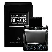 Мужская туалетная вода Antonio Banderas Seduction in Black for Men eu de Toilette (EDT) 50ml