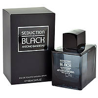 Мужская туалетная вода Antonio Banderas Seduction in Black for Men eu de Toilette (EDT) 100ml