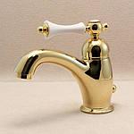 Золотые смесители - роскошь и неординарный дизайн