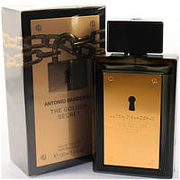 Мужская туалетная вода Antonio Banderas The Golden Secret for Men eu de Toilette (EDT) 50ml, фото 1