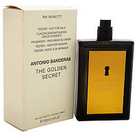 Мужская туалетная вода Antonio Banderas The Golden Secret for Men eu de Toilette (EDT) 100ml, Тестер (Tester)
