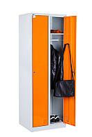 Одежный шкаф ШМО 22-01-06х18х05-Ц-7035