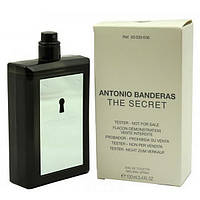 Мужская туалетная вода Antonio Banderas The Secret for Men eu de Toilette (EDT) 100ml, Тестер (Tester), фото 1