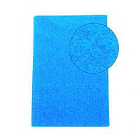 Фоамиран Махровый (плюшевый) Голубой 20х30 см, 2 мм Корея