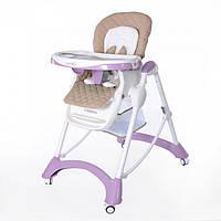 Стульчик для кормления Carrello Caramel CRL-9501 Фиолетовый, фото 1