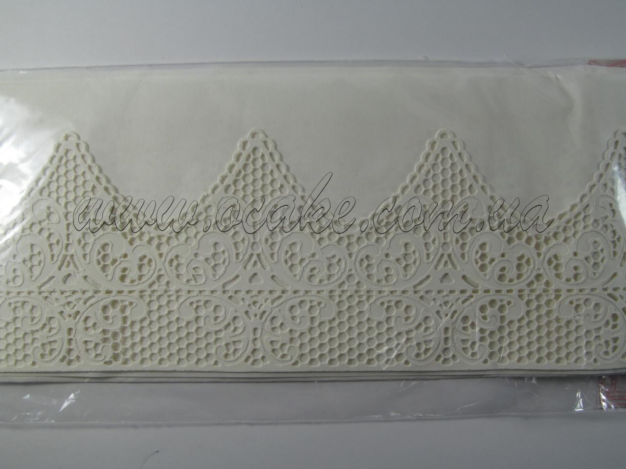 Съедобное кружево из гибкого айсинга