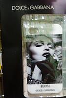 Чехол TPU для iPhone 4/4S Madonna