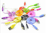Світиться кабель USB-MicroUSB для смартфонів БІЛИЙ УЦІНКА SKU0000004, фото 7
