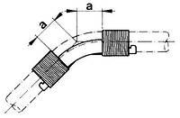 Направляющая 45° для фиксации поворота трубы