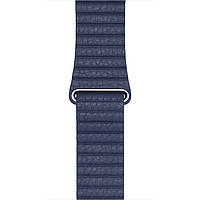 Band Apple Watch 42MM Midnight Blue Leather Loop M (MLHL2ZM/A)
