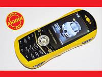 Bugatti Veyron C618 телефон-машинка Желтый 2Sim , фото 1