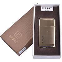 Зажигалка подарочная HASAT (спираль накаливания, USB) №4691-1