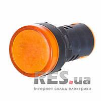 Светосигнальная арматура AD22-22DS желтая 24V АС/DC АскоУкрем