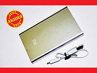 Power Bank Xiaomi Mi 24000 mAh Серый USB + Металл, фото 1