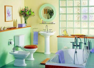Уход за ванными и туалетными комнатами