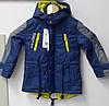 Куртка ветровка для мальчиков. ТМ Grace Венгрия. рост 98 110