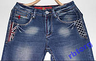 Стильные мужские джинсы Ferrari , W34 L34 стрейч