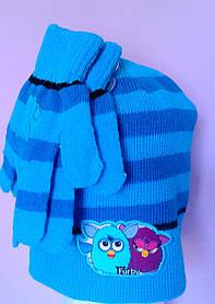 Головні убори Зима Furby+рукавички 780-042 CottonLand Польща