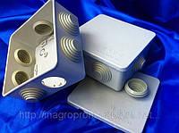 Коробка наружная квадратная 100х100х50mm