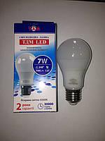 Светодиодная LED лампа ТДМ A55 Е27 4500k 7w 220v