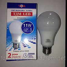 Світлодіодна LED лампа ТДМ A65 Е27 4500k 11w 220v