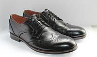 Мужские кожаные туфли броги.42р.Суперцена!