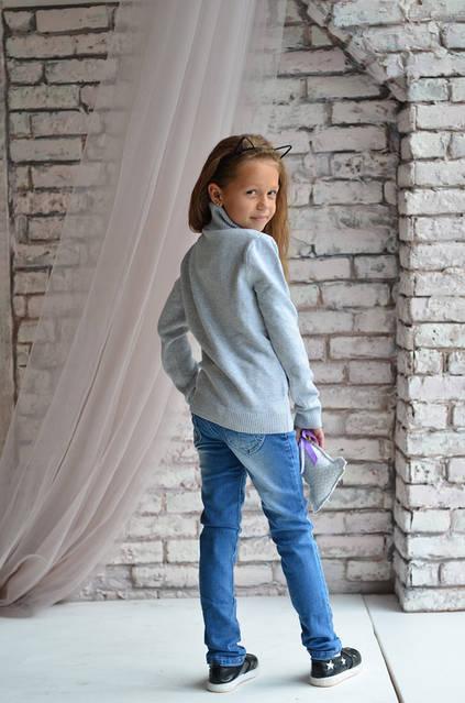 Джинсы на девочек - красиво и модно