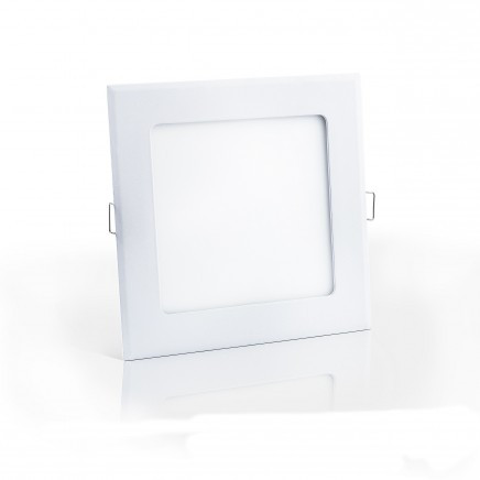 Встраиваемый светодиодный светильник ЕВРОСВЕТ 18Вт квадрат