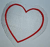 Сердце А5 - декор для жидких обоев