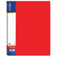 "Папка Economix"" 30 файлів, А4, червона"