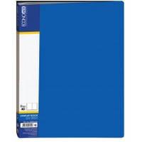 """Папка """"Economix"""" 40 файлов, A4, синяя"""