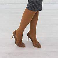Туфли на каблуке бежевый (О-742), фото 1
