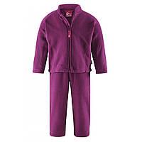 Флисовый костюм для девочки Reima 516074-4870. Размер 86.