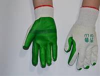 Перчатки садовые (красные,зеленые)