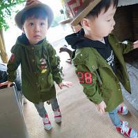 Куртка парка  детская микки
