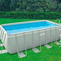 Intex 28350 каркасный бассейн 400х200х100 см., фильтр насос, лестница