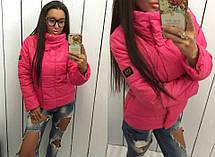 Женская куртка с брендовой нашивкой, фото 3