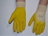 Перчатки для стекольщика.( 1 сорт светлые)
