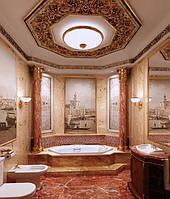 """Ремонт в ваннной люкс класса """"Приватный Курорт"""""""